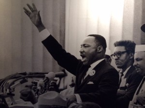 MLK at the height of his oratorical powers. The right person for that moment in time.