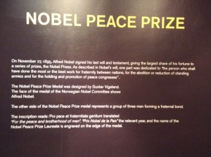 The Nobel Peace Prize was awarded to Jimmy Carter and the Carter Center for their work in building Peace and Democracy. Two Nobel awards out of the same set of problems and small community.