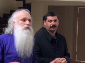 The Bishop and the Yezidi spiritual leader.