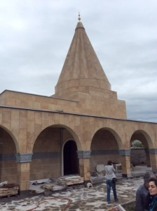 The new Yezidi temple in Tbilisi to replace the historic center lost to ISIS.