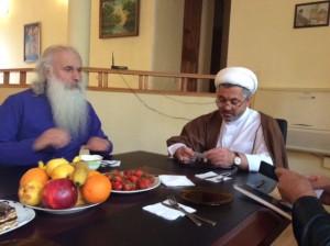 Two buddies - the Baptist Bishop and an Iman who represents both Sunni and Shia.