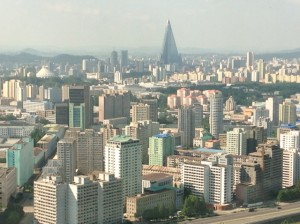 Pyongyang - The Skyline was a Surprise