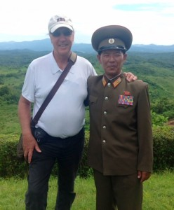Photo with Senior Military Officer