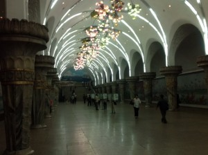 Subway Station - marble like Moscow
