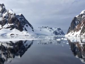 Quiet beauty in Antarctica