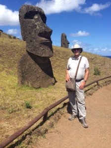 The incredible stone moai on Easter Island