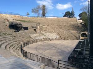 Greek Theatre that survived Rome in 20 centuries and still in active use.