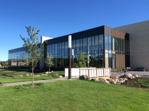 New library at Canadian Mennonite University - one of a number of Mennonite Universities