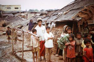 1...Bangladesh Bihari refugee camp 1972.